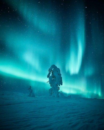 Красота северного сияния - №15