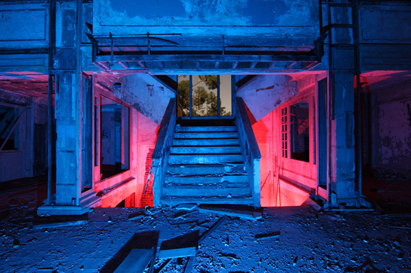 Ночные фотографии заброшенного Запада - №3