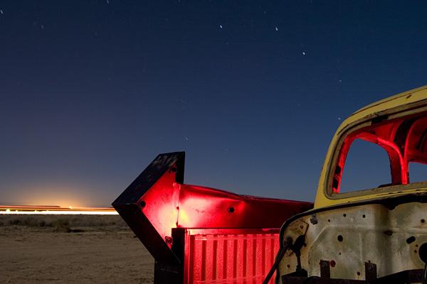 Ночные фотографии заброшенного Запада - №11