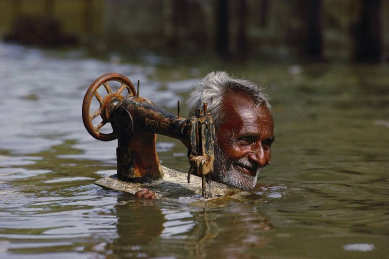 Представитель племени рабари в Индии, 2010