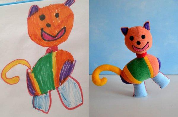 Фантазии ребенка в реальных игрушках. Очень милые фото - №4