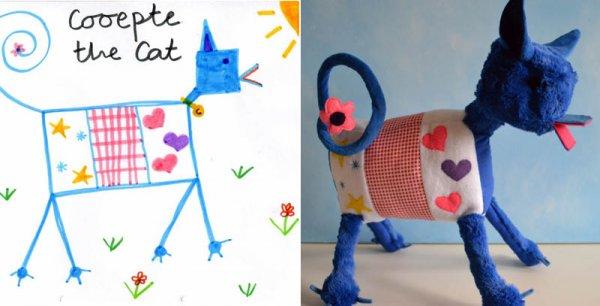 Фантазии ребенка в реальных игрушках. Очень милые фото - №8