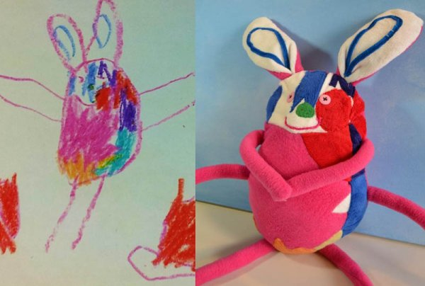 Фантазии ребенка в реальных игрушках. Очень милые фото - №20