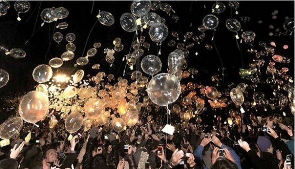 Празднование Нового Года - красивые фото из разных стран - №7