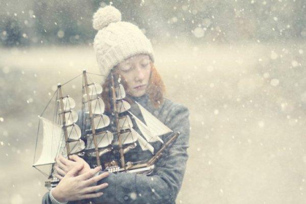 Зимнее настроение профессионального фотографа Анки Журавлевой - №1