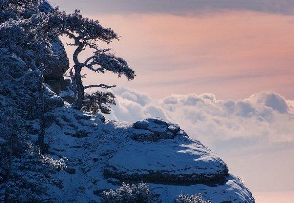 Зимние фото пейзажи из Крыма - №1