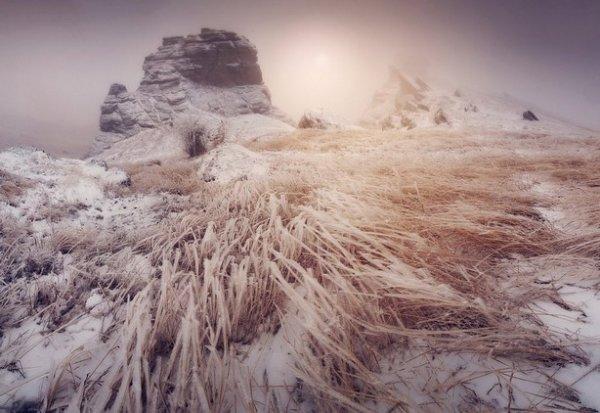 Зимние фото пейзажи из Крыма - №9