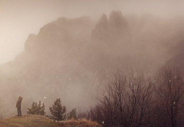 Зимние фото пейзажи из Крыма - №13