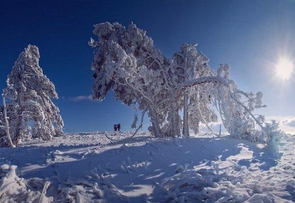 Зимние фото пейзажи из Крыма - №21