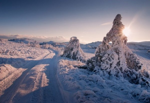 Зимние фото пейзажи из Крыма - №25