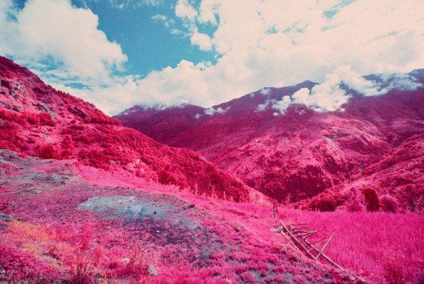 Шон Линч. Инфракрасные фото пейзажи Непала и другие работы  - №2