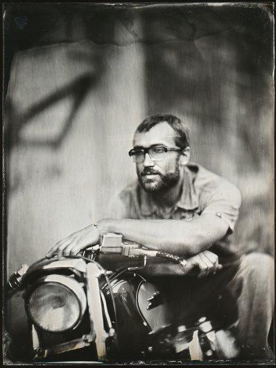 Андрей Шерстюк. Фото портреты в старинной технике амбротипии - №4