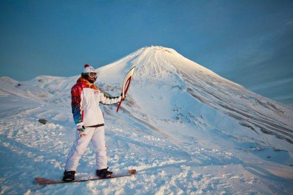 Новости в фотографиях - Олимпийский огонь 2014 глазами иностранных журналистов - №1
