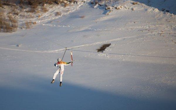Новости в фотографиях - Олимпийский огонь 2014 глазами иностранных журналистов - №13