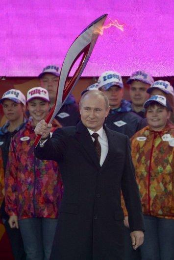Новости в фотографиях - Олимпийский огонь 2014 глазами иностранных журналистов - №25