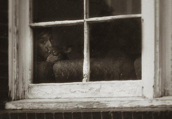 Взгляд в окно - искусство черно-белых фото - №22