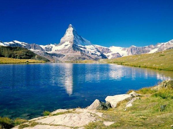 Лучшие фото Альпийских гор Маттерхорн - №7