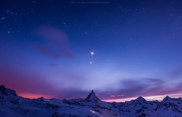 Лучшие фото Альпийских гор Маттерхорн - №4