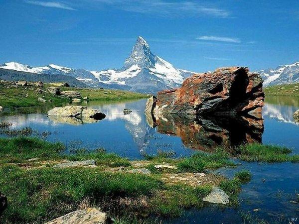 Лучшие фото Альпийских гор Маттерхорн - №17
