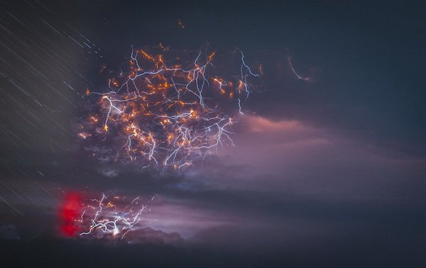 Лучшие фото кадры извержения вулканов мира - №5