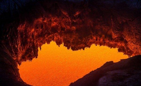 Лучшие фото кадры извержения вулканов мира - №9