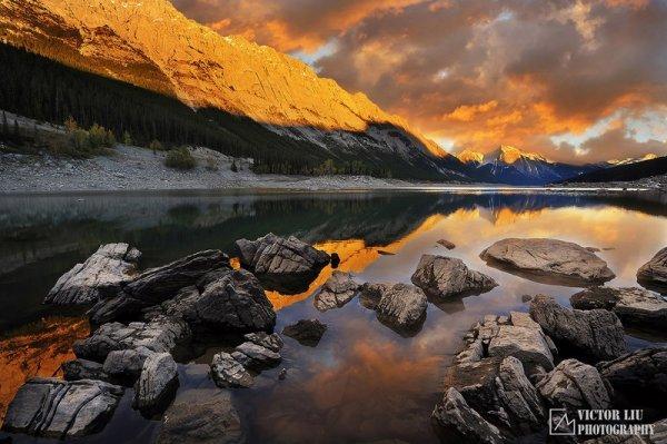 Чувственные фото пейзажи от канадского фотографа Victor Liu - №6