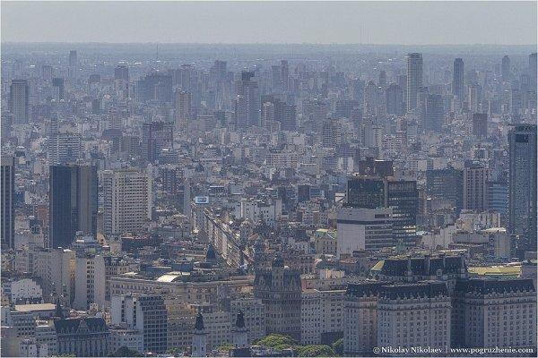 Аргентина, вид с воздуха - южноамериканские фото пейзажи - №1