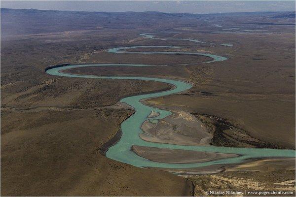 Аргентина, вид с воздуха - южноамериканские фото пейзажи - №5