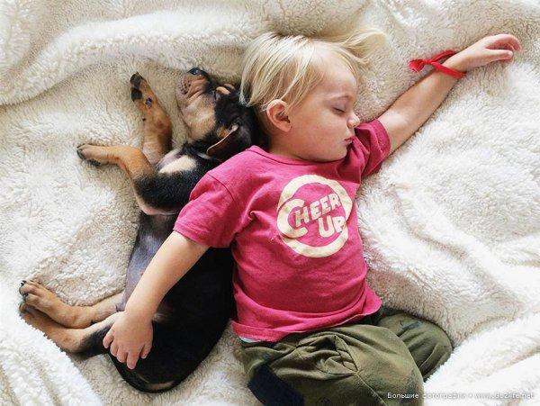 Милые дети и собачки - новый тренд Instagram - №4