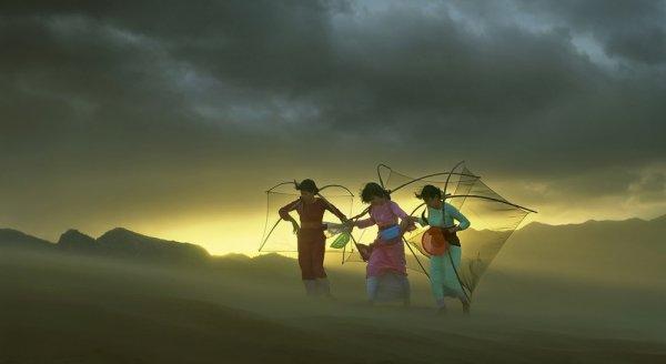 самые удачные кадры - Вьетнамские женщины. © Nguyen Bao Son