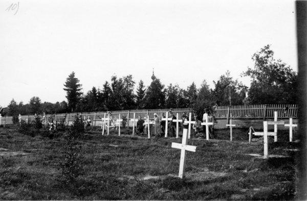 Неизвестный автор. Военные захоронения в Нарве 1914-1918 гг. Россия, июль 1921. © Photothèque CICR (DR)