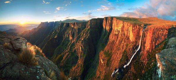 большие водопады мира
