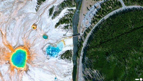 фото Земли со спутника