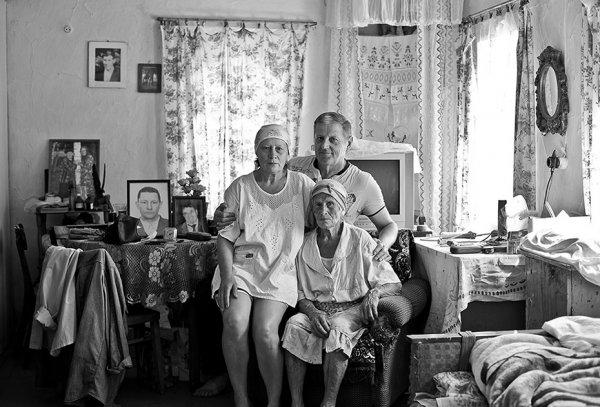 старые русские деревни