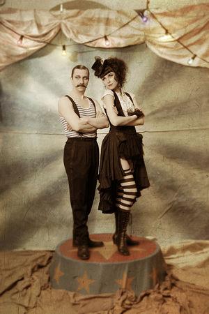 Саара Салми и Марко Меларди, Финляндия. Цирк Шампань. Хельсинки, 2011