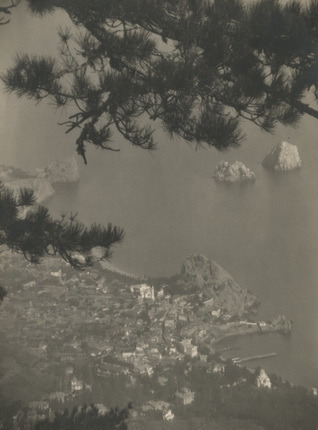Юрий Еремин. Гурзуф. Авинда. 1925. Авторский серебряно-желатиновый отпечаток. Коллекция Алекса Лахмана