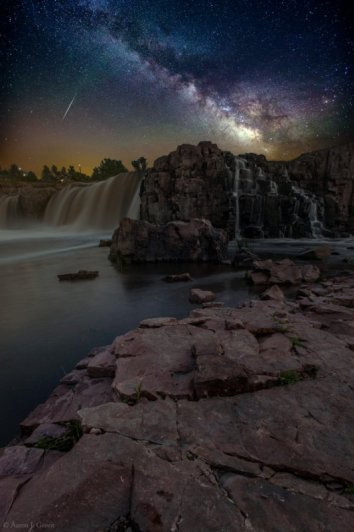 звездное ночное небо