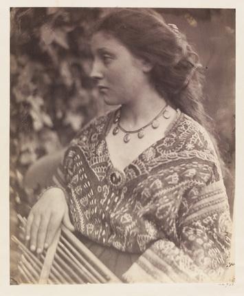 Джулия Маргарет Кэмерон. Сапфо, 1865. © Victoria and Albert Museum, Лондон