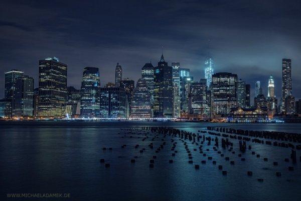 ночной город фото