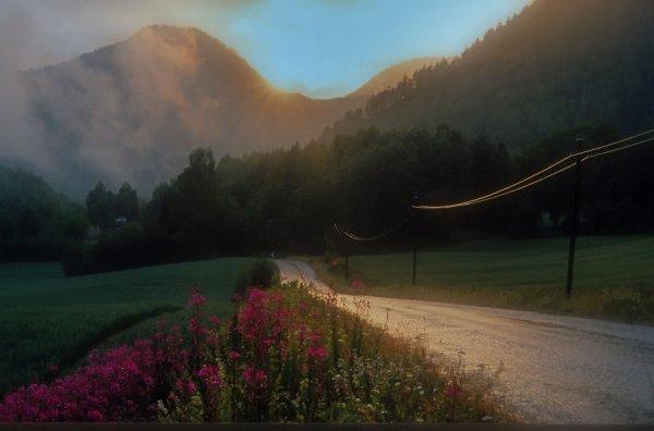 красивые пейзажи природы
