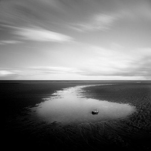 черно-белый пейзаж 5