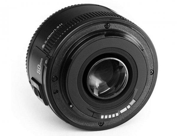 объектив canon 50mm